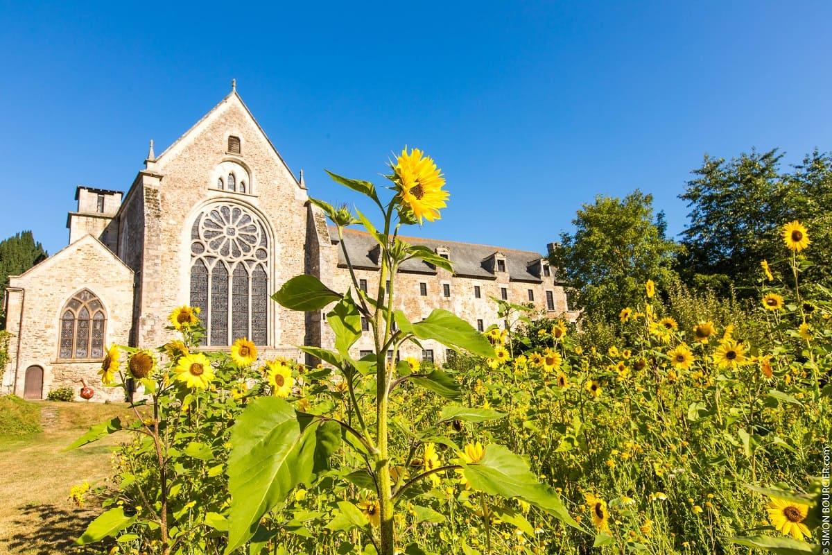 Visite de l'Abbaye de Léhon